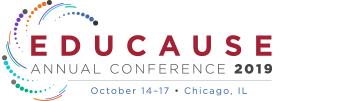 EDUCAUSE Annual Conference, October 14-17, 2019, Chicago, IL
